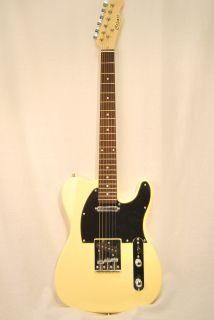 Custom Hand Made Cozart Electric Guitar Ivory STL 01