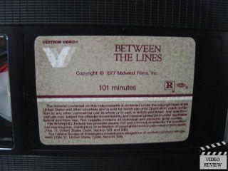 Between The Lines VHS Jeff Goldblum Marilu Henner