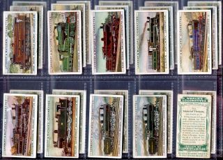 Additional Card Set Lambert Butler World Locomotive Train 1913