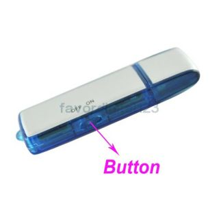 2GB Mini SPY USB Digital Voice Recorder Recording Camcorder