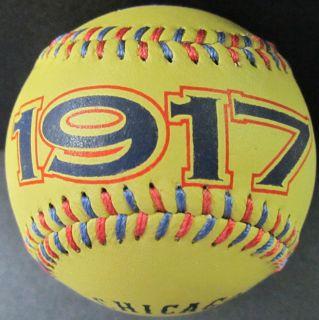 1917 Chicago White Sox Spinneybeck Leather Baseball MLB RARE Limited