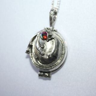 The Vampire Diaries Elenas Charm Vervain Necklace Locket