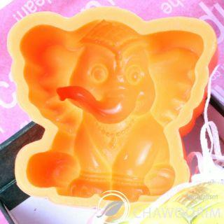 Whole Sale Silicone Natural Soap Molds A Elephant 3 5oz