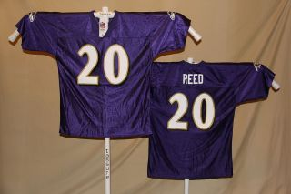 Ed Reed BALTIMORE RAVENS NFL Team Apparel JERSEY XL NWT