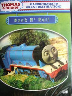 Thomas and Friends Rock N Roll DVD Buy 4 Get 1 Free