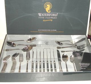 Waterford Somerset 47 Piece Stainless Flatware Service for 8 New