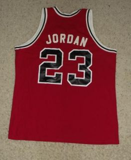Sand Kint Chicago Bulls 23 Jordan Basketball Jersey Sz XL