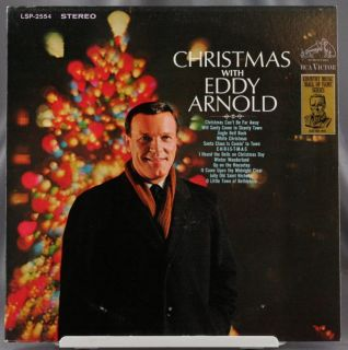 33 LP Record Eddy Arnold Christmas RCA Victor Stereo