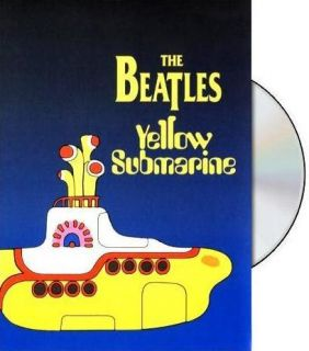 The Beatles Yellow Submarine DVD Video Movie US Seller 027616750822