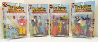 McFarlane Toys Beatles Yellow Submarine Series 2 4 Figure Set New on