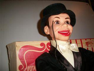 McCarthy Ventriloquist Doll Puppet Juro Novelty Edgar Bergen 68