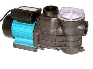 inch Pool Electric Water Pump with Strainer