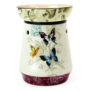 NEW Electric Tart Warmer Butterfly Design Use With Mia Bella Scentsy