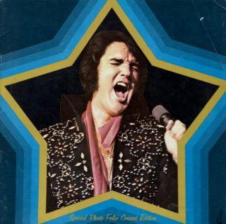 Elvis Presley 1974 U s Tour Concert Program Book No 1