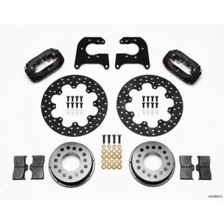 Wilwood Disc Brake Kit Dynalite Drag Rear Drilled Rotor 4 Piston