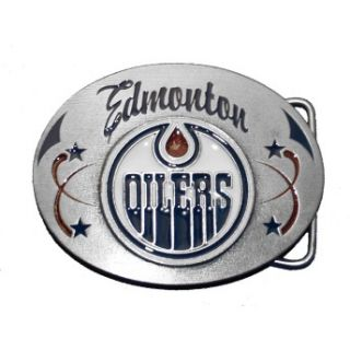 edmonton oilers nhl hockey belt buckle ice sku th17 edmonton oilers