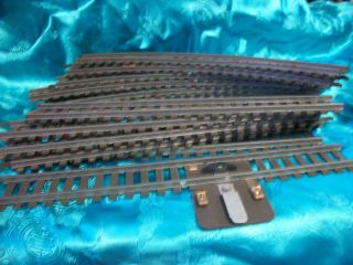 American Flyer Train Tracks 14 Pieces