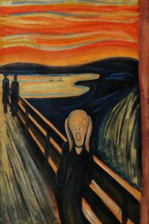 Repro 50 60 Oil Painting Canvas Edvard Munch The Scream