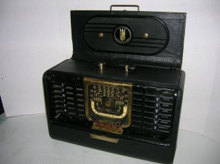 ZENITH VINTAGE RECONDITIONED TRANS OCEANIC AM SHORTWAVE RADIO G 500