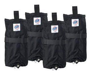 EZ UP Deluxe Weight Bag Set Set of 4 40 Pounds Each Tent Bags
