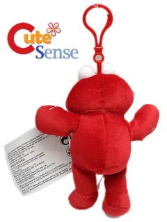 Sesame Street Elmo 5 Hanging Plush Key Chain Holder