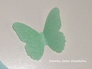 Edible Rice Paper Butterflies x 12 Many Colours Cakes
