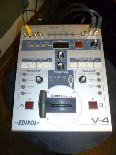 Edirol Roland V 4 Four Channel Mixer Switcher