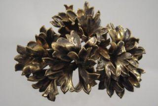 Vintage Flora Danica Danish Eggert Silver Denmark Signed Parsley Leaf