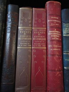 INVESTMENT 40 Book Antique Leather & Premium Bound Library Lot+LIMITED