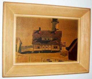 Edward Hopper, Captain Strouts House, American, Framed Vintage