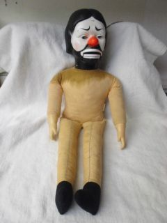 EMMETT KELLY JR CLOWN VENTRILOQUIST DOLL 1978 BY HORSMAN VINTAGE RARE