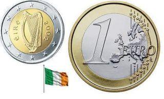 Irish Currency One Euro Coin Eire Harp Ireland Great Irish Gift