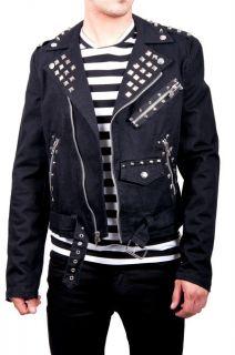 Tripp NYC Goth Punk Emo Band Judas Jacket BD7577M