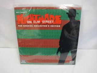 Laserdisc Nightmare on Elm Street Special Collection Freddy Krueger