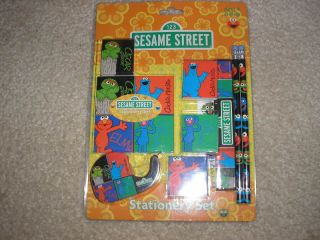 New Sesame Street Elmo Oscar Grover Cookie Monster Set