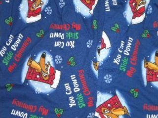 New Joe Boxer Shorts Holiday Santa Slide Down Chimney L 36 38 Mens