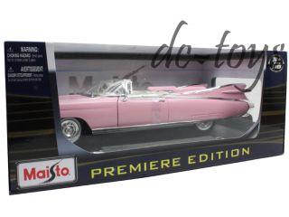 Maisto 1959 Cadillac Eldorado Biarritz 1 18 Diecast Pink