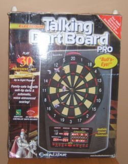 PL 222 Talking Electronic Dart Board by Excalibur Used