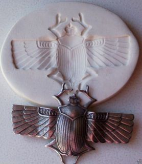 Egyptian Scarab Beetle Large Egypt CNS Polymer Mold