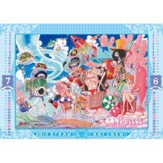 ONE PIECE Comic Calendar 2013 Eiichiro Oda Luffy Zoro Nami Usopp Sanji