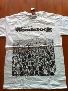 Urban Outfitters Forever 21 Woodstock White Shirt Size Medium M