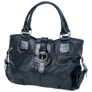 Embassy™ Italian Stone™ Design Genuine Lambskin Leather Purse #