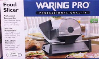 Stainless Steel Electric Food Slicer 130 Watt Heavy Duty
