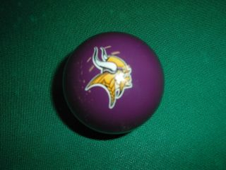 Minnesota Vikings NFL Billiard Ball 8 Ball Cue Ball Pool Ball