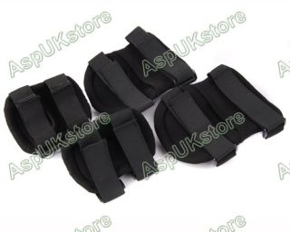 Tactical Knee Elbow Protective Pads Set Black