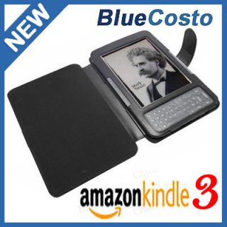 Kindle 3G 3 WiFi Leather Case eBook Cover Jacket