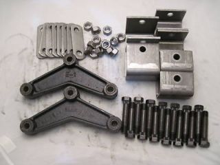 Hanger Kit Double Eye Spring Kit W Equalizers Bolts Brackets APT 3