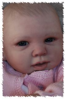 Reborn Emma OOAK Doll Lifelike Art Artist Baby Girl Michelle Fagan