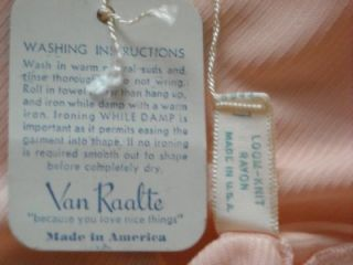 Vintage 30s Art Deco Van Raalte Panties Bloomers Orig Tags L