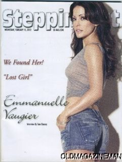 Emmanuelle Vaugier Steppin Out Magazine February 2012